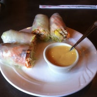 Photo taken at Vietopia Vietnamese Cuisine by Kim T. on 9/7/2012