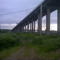 Photo taken at Queensborough Bridge by Hardev S. on 6/6/2012