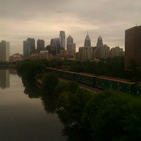 Photo taken at South Street Bridge by Ayesha B. on 9/2/2011