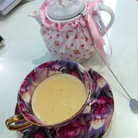 Photo taken at Victoria Rossa English Tea Room by Rach L. on 6/4/2011