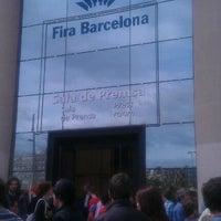 Photo taken at Fira de Barcelona by Nira G. on 5/6/2012
