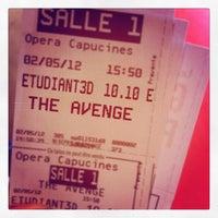 Photo taken at Gaumont Opéra (côté Capucines) by Brit G. on 5/2/2012