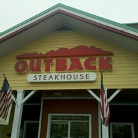 Photo taken at Outback Steakhouse by James P. on 9/7/2011