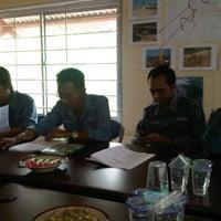 Photo taken at Meeting Room Jatibarang Dam by SUPRIYANTO on 12/29/2011
