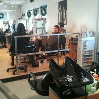 Photo taken at Kenneth Wildes Hair Salon by Tina B. on 12/3/2011