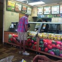 Photo taken at SUBWAY by Blodis B. on 8/9/2011