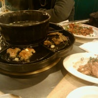Photo taken at Cocary Shabu Shabu BBQ by Kaguya H. on 2/13/2012