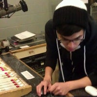 Photo taken at WRFL-FM Studios by Russ C. on 1/16/2012