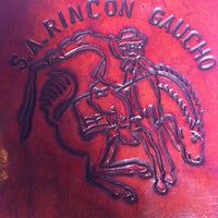 Photo taken at El Rincón Gaucho by Miguel André D. on 6/30/2012