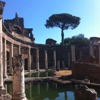 Photo taken at Villa Adriana by Ed G. on 8/11/2012