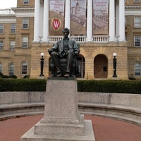 Photo taken at Bascom Hall by Dru D. on 11/25/2011