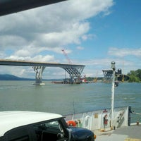 Photo taken at Crown Point Bridge Ferry by David V. on 7/27/2011