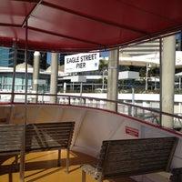 Photo taken at Eagle Street Pier Ferry Terminal by Jim L. on 9/10/2012