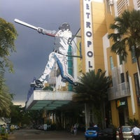 Photo taken at Metropolis Town Square by Fadjar P. on 3/29/2012