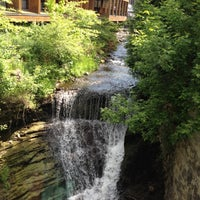 Photo taken at Ancaster Old Mill by Jonathan L. on 5/18/2012