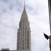 Photo taken at Chrysler Building by Mikhail B. on 7/21/2012