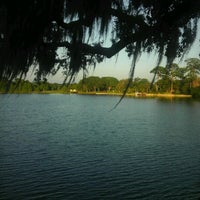 Photo taken at Lake Ivanhoe Park by Denna B. on 6/11/2012
