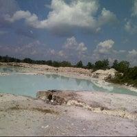 Photo taken at Tambang Kaolin, Belitung by shella L. on 4/29/2012