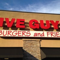 Photo taken at Five Guys by D.G. on 5/5/2012