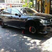 Photo taken at ร้านยาง พรหมนิมิต by Worapol S. on 4/28/2012