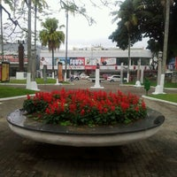 Photo taken at Praça Ângelo Piazeira by Adriana V. on 5/31/2012