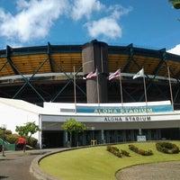 Photo taken at Aloha Stadium by JDogg C. on 9/10/2012