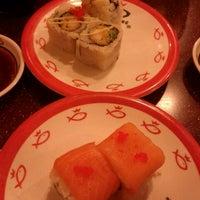 Photo taken at Sushi King by loo p. on 4/3/2012