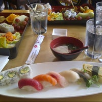 Photo taken at Symphony Sushi by Neo Q. on 7/10/2012