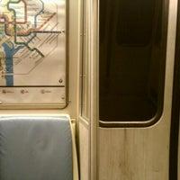 Photo taken at WMATA Yellow Line Metro by Alex Z. on 3/20/2012