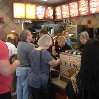 Photo taken at Chick-fil-A Fruitville Road by Christian Z. on 8/1/2012
