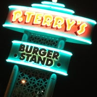 Photo taken at P. Terry's Burger Stand by Chris T. on 7/8/2012