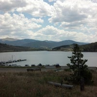 Photo taken at Dillon Reservoir by Tim P. on 7/12/2012