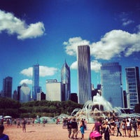 Photo taken at Grant Park by Juan Pablo G. on 8/5/2012