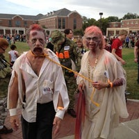 Photo taken at Broyhill Fountain by Kathryn K. on 8/26/2012