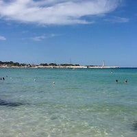 Photo taken at Spiaggia San Vito Lo Capo by Maurizio S. on 8/29/2012