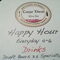 Photo taken at Carpe Diem Wine Bar by Phillip H. on 3/3/2012