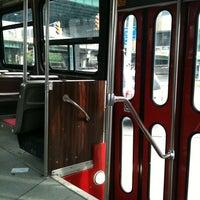 Photo taken at TTC Streetcar #504 King St by Natalie G. on 9/19/2011