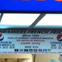 Photo taken at Thrasher's French Fries by Diana K. on 4/7/2012