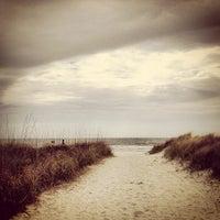 Photo taken at Burkes Beach by Sandy R. on 2/26/2012