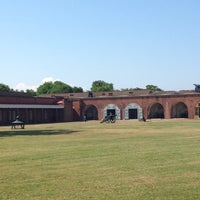 Photo taken at Fort Pulaski by Carmen Z. on 4/29/2012