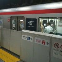 Photo taken at TX Asakusa Station by masato on 4/29/2012