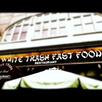 Photo taken at White Trash Fast Food by Angel K. on 9/2/2012