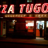 Photo taken at Pizza Tugos by Nigel B. on 10/28/2011