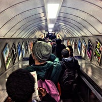 Photo taken at Old Street London Underground Station by Bal B. on 4/24/2012