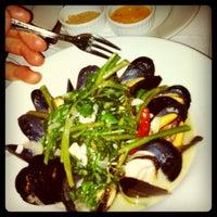 Photo taken at Jar Restaurant by Evan D. on 10/26/2011