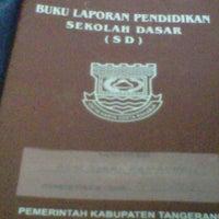 Photo taken at SD Negeri Batan Indah by Mia I. on 12/23/2011
