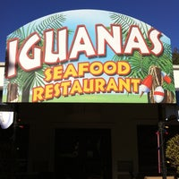 Photo taken at Iguanas Seafood Restaurant by Mike H. on 1/28/2011