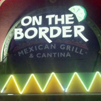 Photo taken at On The Border Mexican Grill & Cantina by Ryan S. on 11/8/2011