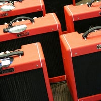 Photo taken at Cosmo Music - The Musical Instrument Superstore! by Christopher B. on 1/30/2012