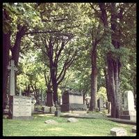 Photo taken at Trinity Church Cemetery & Mausoleum by Josh P. on 6/3/2012